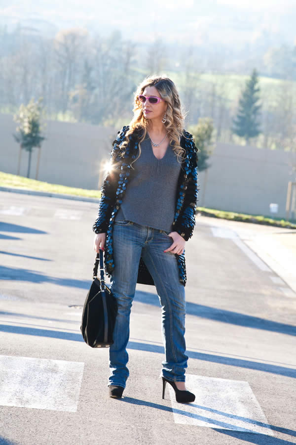 La Fashion Blogger Cristina Lodi indossa 5+1 Annapurna