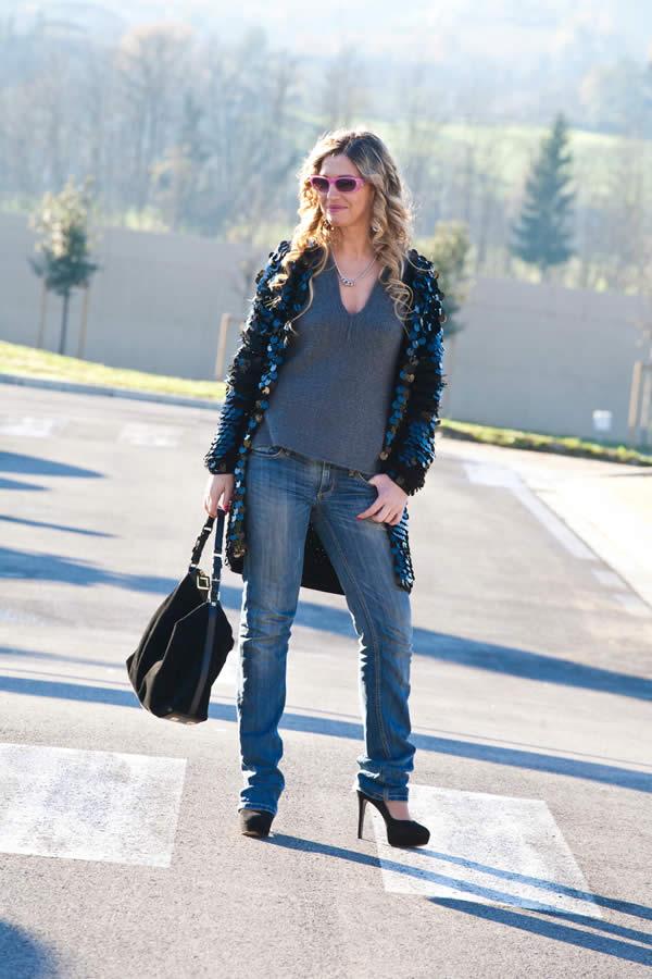 La Fashion Blogger Cristina Lodi indossa Aida Barni
