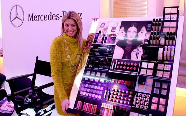 La Fashion Blogger Cristina Lodi al Fashion Club Mercedes