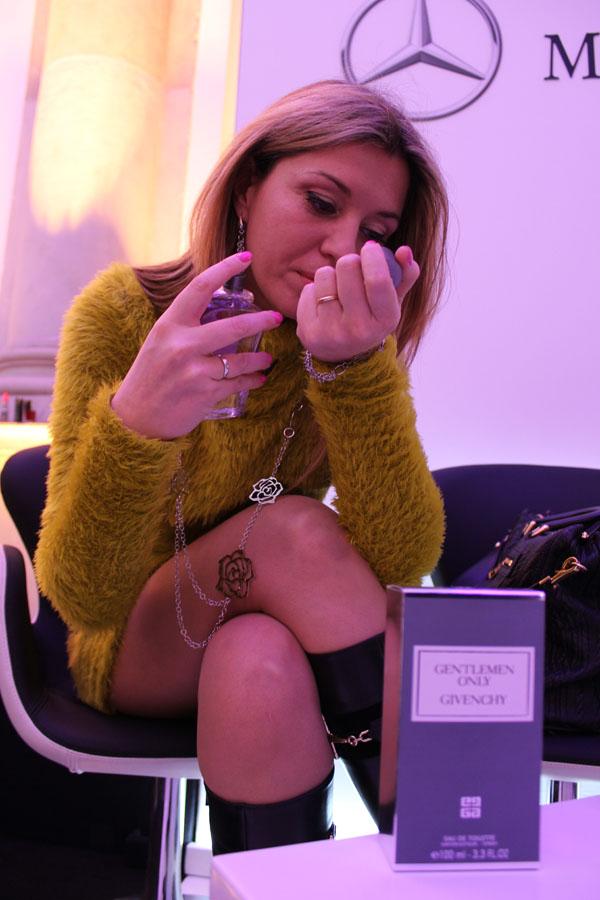 Cristina Lodi prova  Gentlemen Only Givenchy