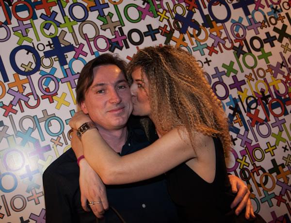 La Fashion blogger Cristina Lodi con il marito Sergio