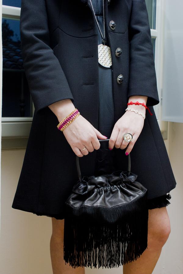 Cristina Lodi con gioielli Ikonika for Zoppini