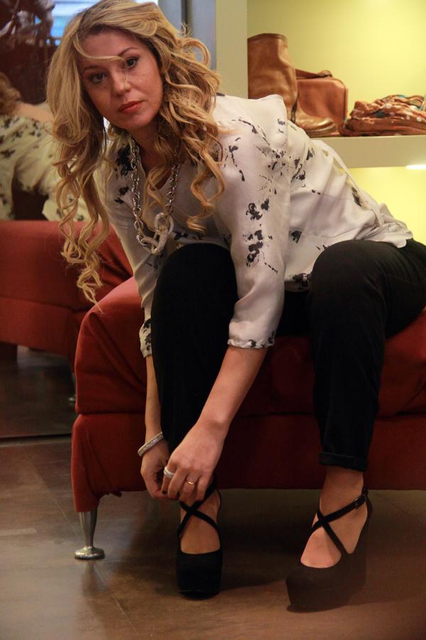 La Fashion Blogger Cristina Lodi per Ikonika for Zoppini