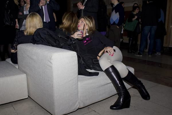 La Fashion Blogger Cristina Lodi allo Sweet Party a Palazzo Re Enzo
