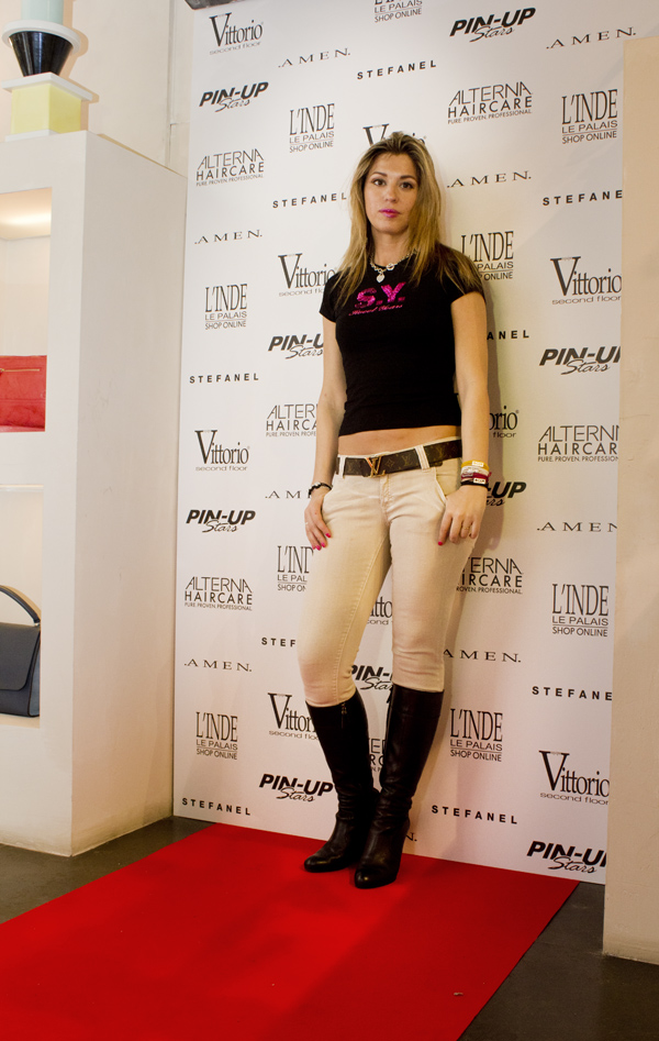 La Fashion Blogger Cristina Lodi a L'Inde le Palais