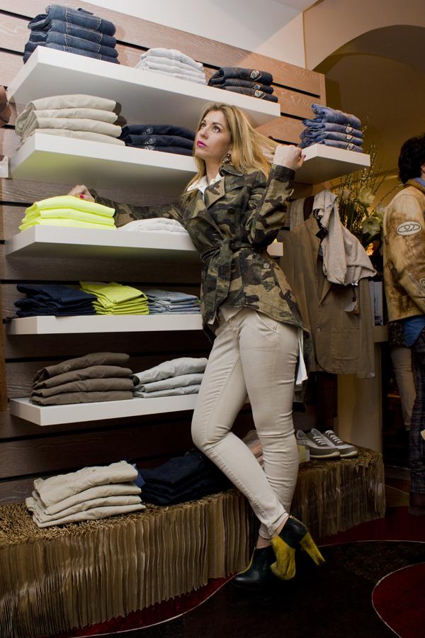 La Fashion Blogger Cristina Lodi per 9.2 by Carlo Chionna