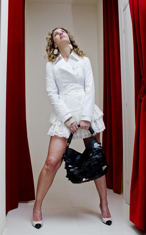 La Fashion Blogger Cristina Lodi indossa scarpe Giuseppe Zanotti Design