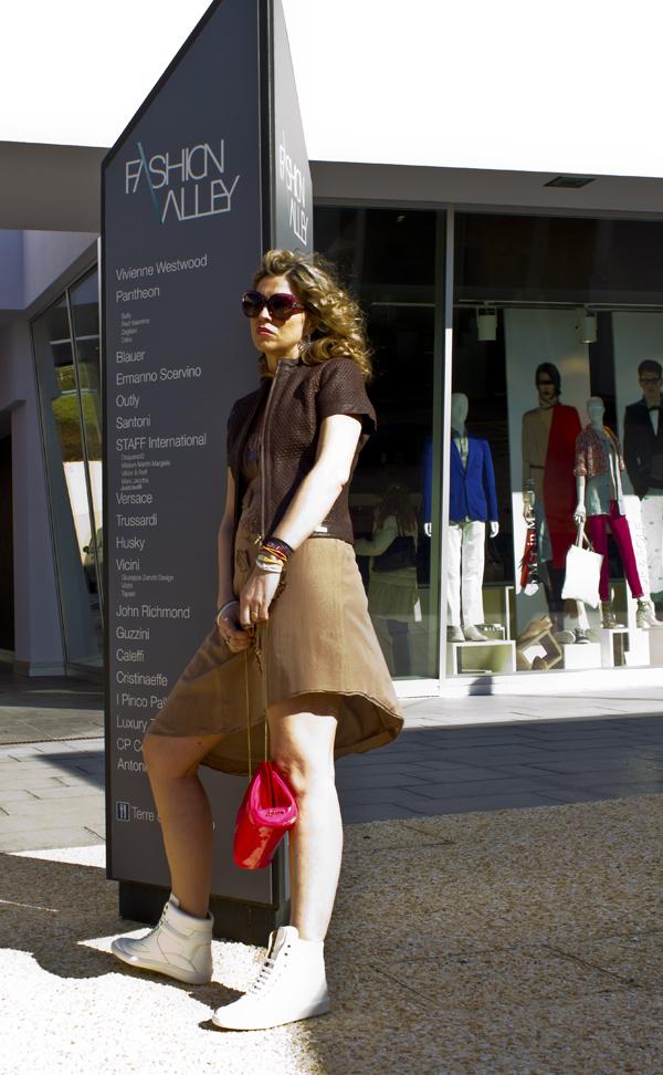 Cristina Lodi in Fashion Valley veste CristinaEffe