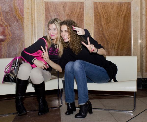 La Fashion Blogger Cristina Lodi e l'amica Michela allo Sweet Party