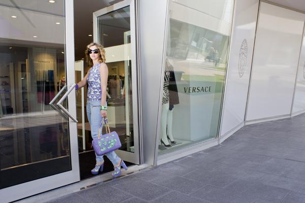 La Fashion Blogger Cristina Lodi da Versace alla Fashion Valley