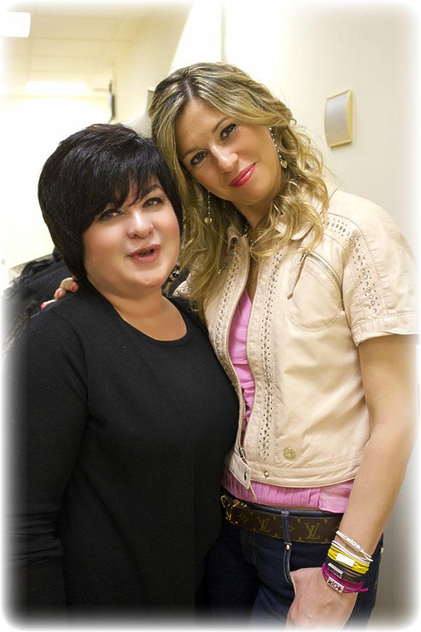Patrizia Negroni di Guerlain con la Fashion Blogger Cristina Lodi