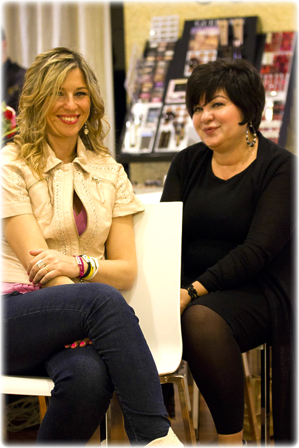 La Fashion Blogger Cristina Lodi e Patrizia Negroni di Guerlain