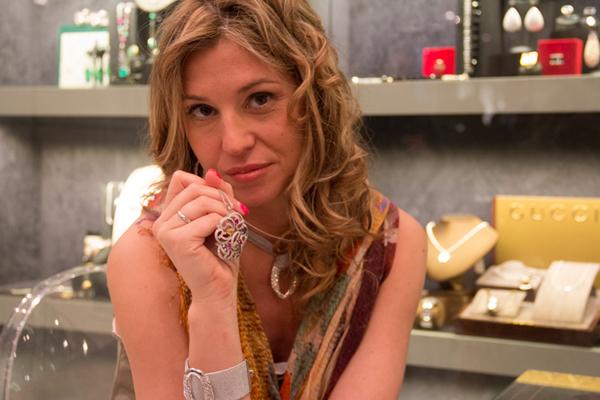 La Blogger Cristina Lodi con trucco  di Linea Estetica