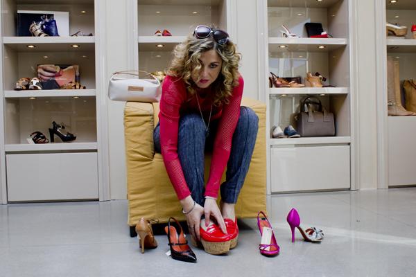 La Fashion Blogger Cristina Lodi per Santoni