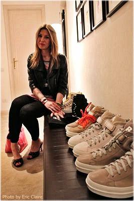 La Fashion Blogger Cristina Lodi con Rucoline