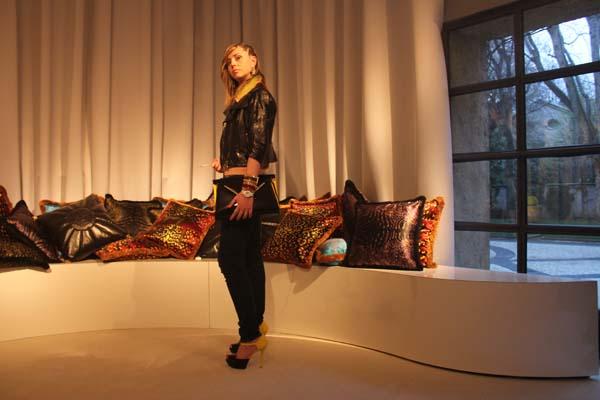 La Blogger Cristina Lodi di 2 Fashion Sisters ospite da Versace Home