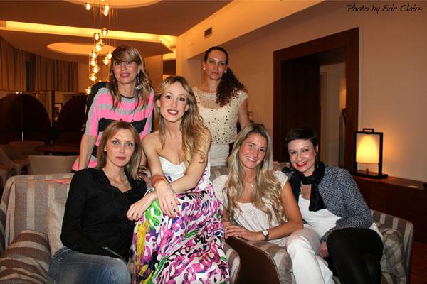 Cristina Lodi, Marian Bronco, Silvia Slitti, Elena Lucchini, Veronica Zambelli , Laura Buffoli