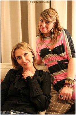 La Fashion Blogger Cristina Lodi e Marian Bronco di Tacchetti a Spillo