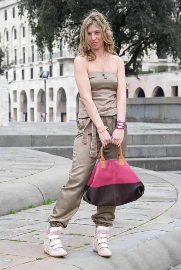 La Fashion Blogger Cristina Lodi indossa CristinaEffe