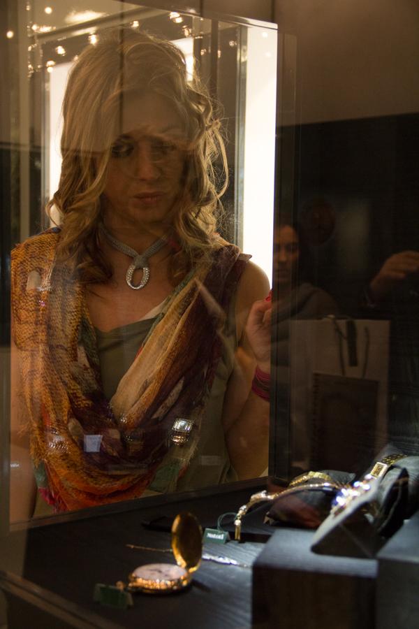 Cristina Lodi indossa Mesh di Zoppini