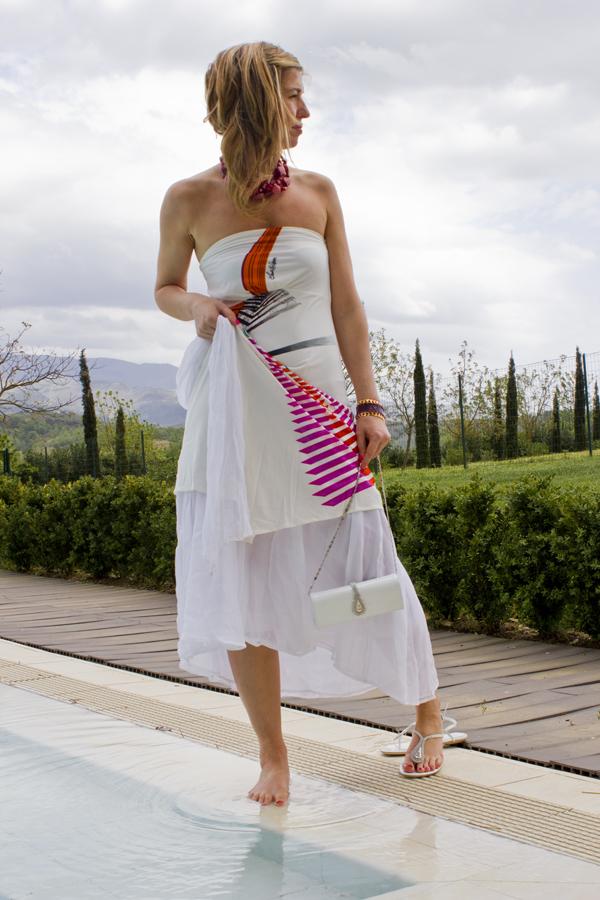 La Fashion Blogger Cristina Lodi con bracciale Ikonika