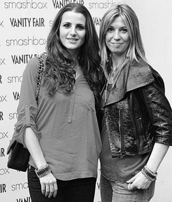 Cristina De Pin e Cristina Lodi con bracciale Ikonika