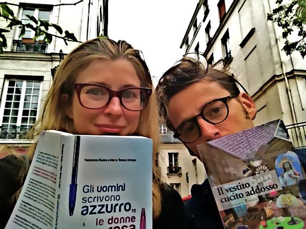 Chiara di 2 Fashion Sisters e Francesco Russo
