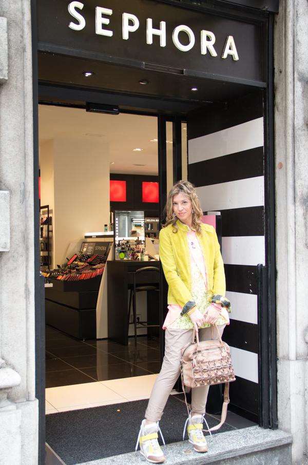 La Fashion Blogger Cristina Lodi a Genova da Sephora