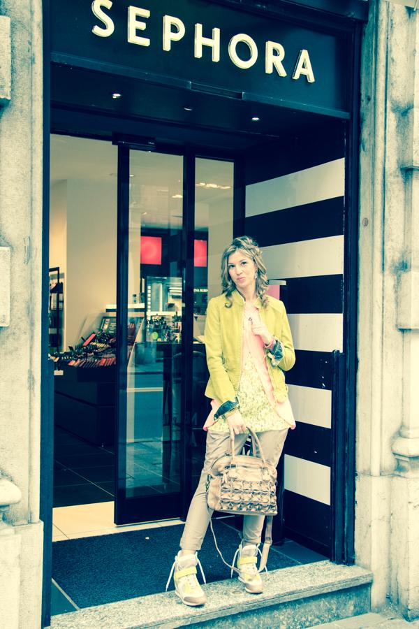 La Fashion Blogger Cristina Lodi nella sua Genova da Sephora