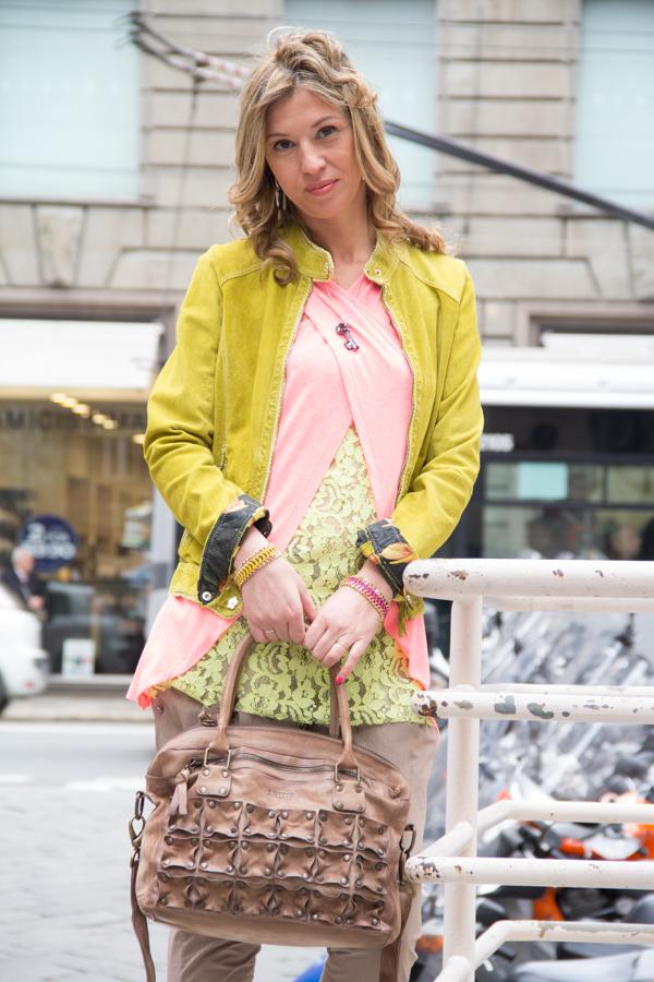 Cristina Lodi con trucco Linea Estetica