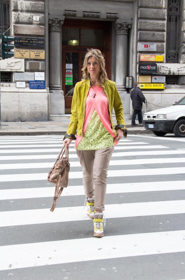 La Fashion Blogger Cristina Lodi con giacca Myskin