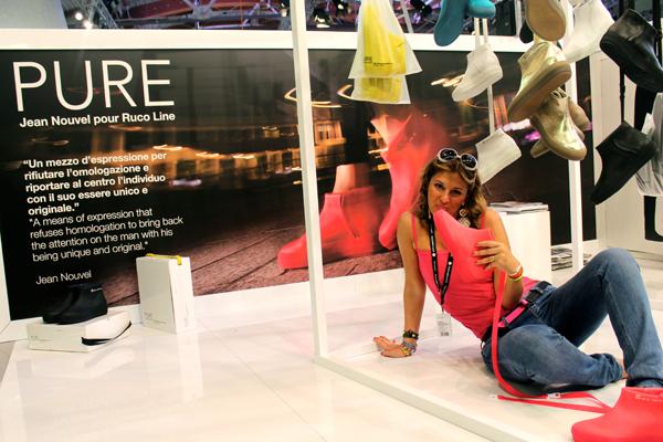 """Cristina di 2 Fashion Sisters e la """"capsule Pure"""" di Jean Nouvel per Ruco Line"""