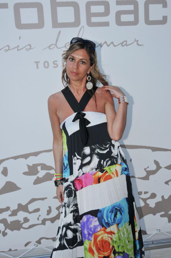 La Fashion Blogger Cristina Lodi al Purobeach Toscana