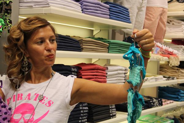 La Fashion Blogger Cristina Lodi da MC2 Sainth Barth a Taormina