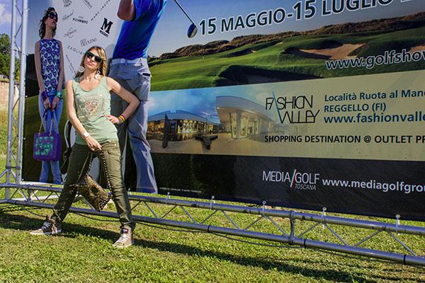 La Fashion Blogger Cristina Lodi Fashion Ambassador Golf Show