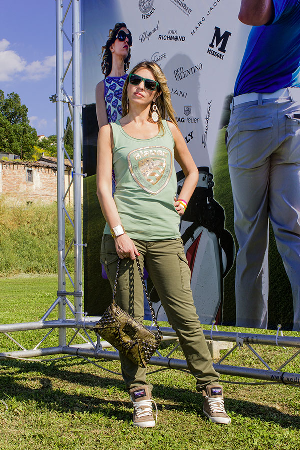 La Fashion Blogger Cristina Lodi Fashion Ambassador del Golf Show