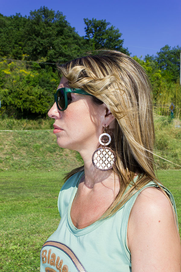La Fashion Blogger Cristina Lodi indossa Ray Ban