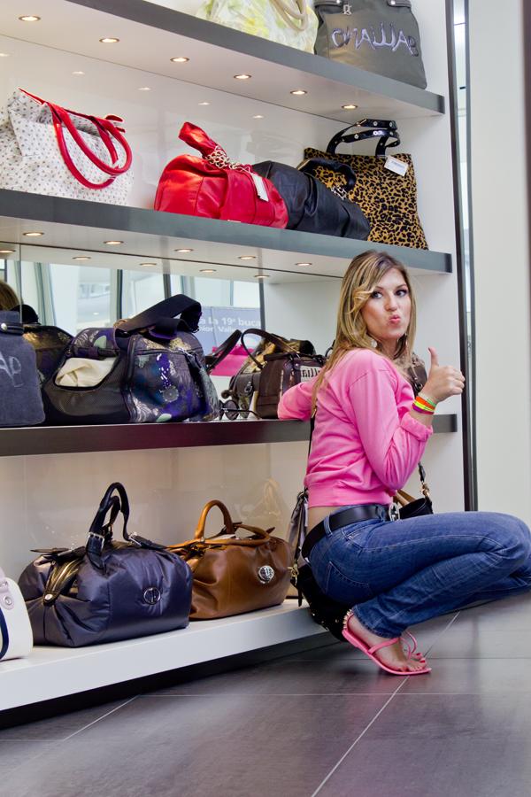 Cristina Lodi e lo shopping