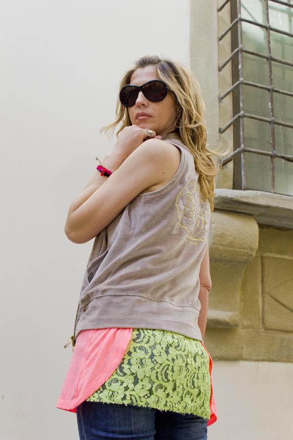 Cristina Lodi indossa CristinaEffe e Alviero Martini 1 Classe