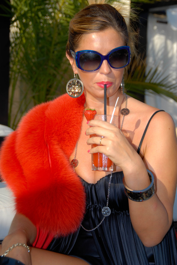 Cristina indossa gioielli Ikonika for Zoppini