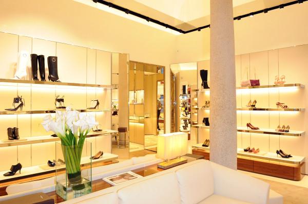Salvatore Ferragamo Boutique Opening, MFW, Womenswear Spring/Summer 2014