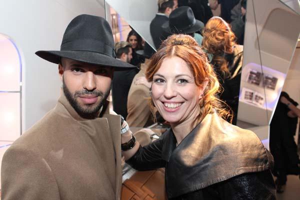 Jonathan Kashanian e Cristina Lodi