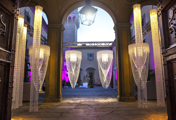 2 fashion sisters, Hotel Details, castello di Montegufoni, Toscana