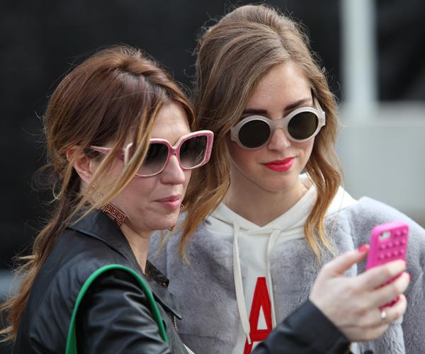 cristina di 2 fashion sisters e chiara ferragni