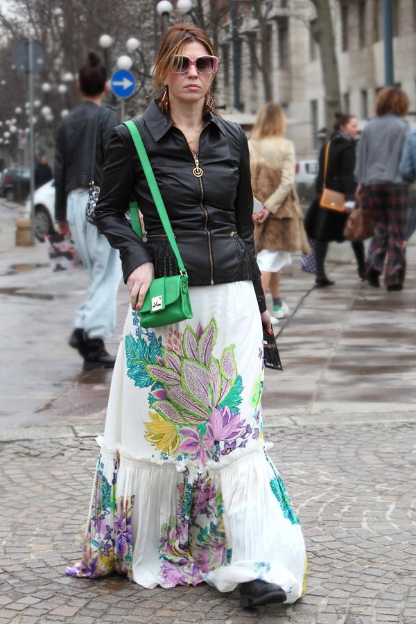 cristina lodi, gonna roberto cavalli, fashion blogger italia