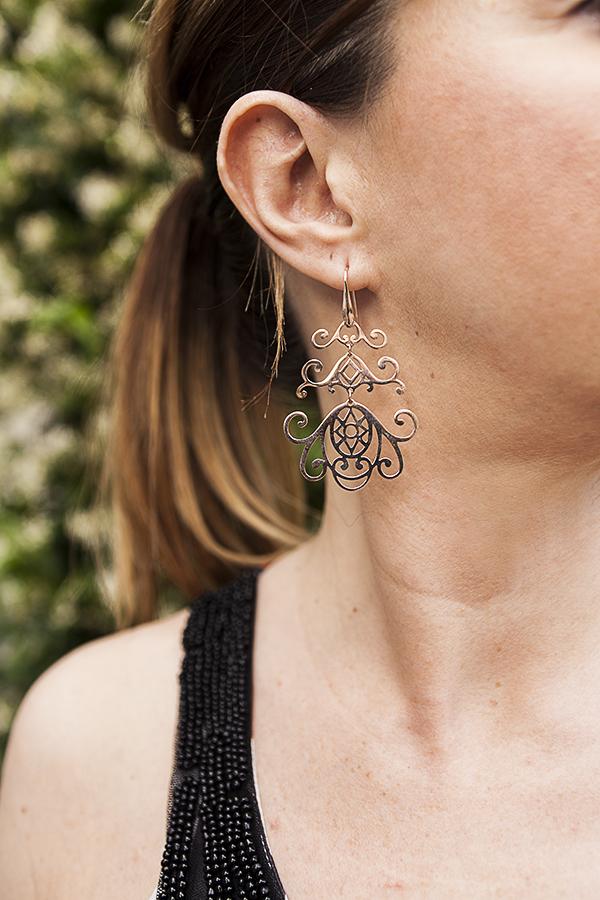 Cristina Lodi, 2 fashion sisters, orecchini morellato