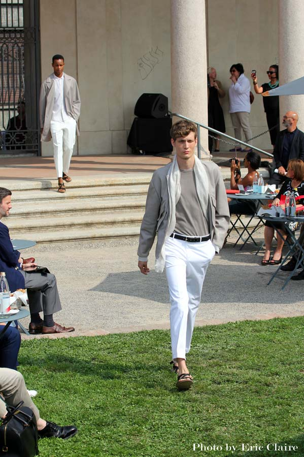 fashion show, corneliani, 2 fashion sisters, fashion blogger italia