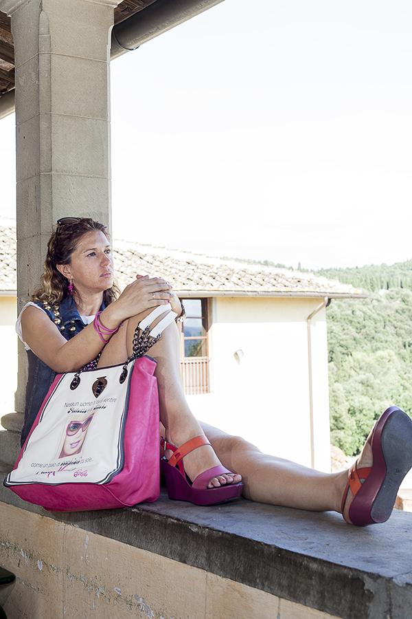 Cristina Lodi, 2 Fashion Sisters, Giubbotto Relish, fashion blogger italia, sandali Nr Rapisardi