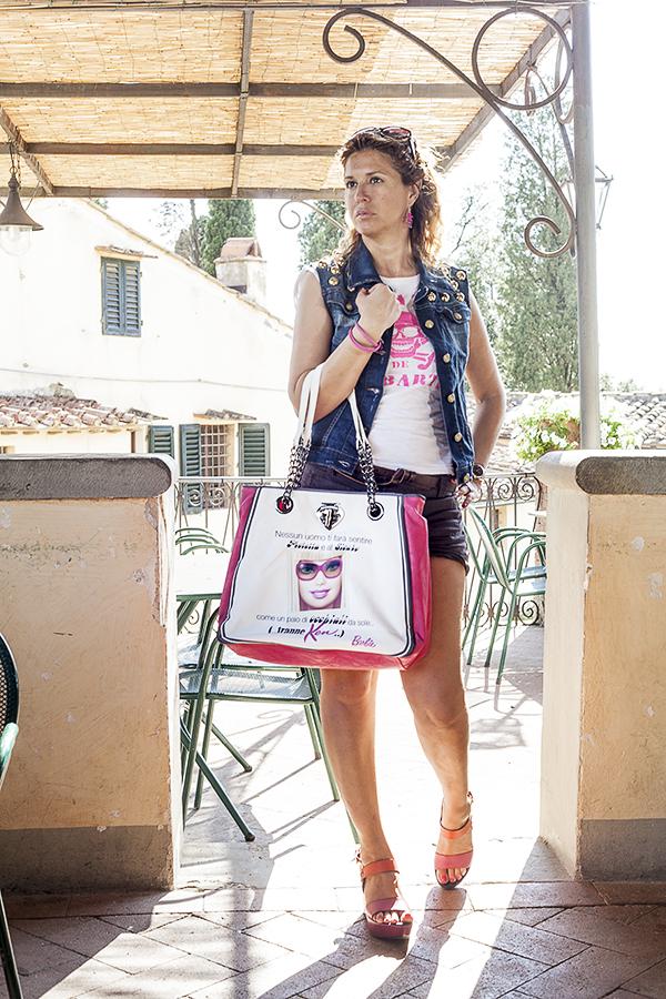 Cristina Lodi, 2 Fashion Sisters, Giubbotto Relish, fashion blogger italia, tee Mc2 Saint Barth