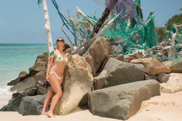 cristina lodi, bikini domani, stress srl, antigua, i migliori fashion blogger, models